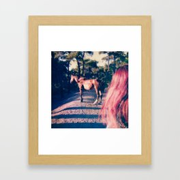 Fugue V Framed Art Print