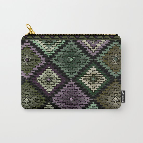Geometric pattern #027 Carry-All Pouch