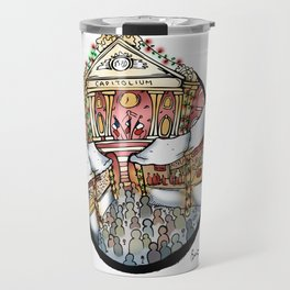 Christmas Market in Toulouse Travel Mug