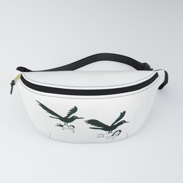 Ravens Carry You Away Fanny Pack