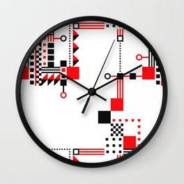 Tekno Abstrakt Wall Clock