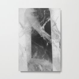 Crystal Depths Metal Print