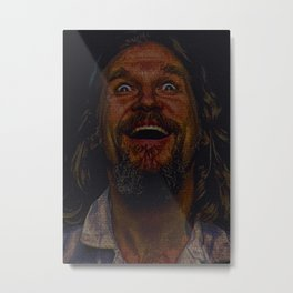 The Dude (Lebowski Screenplay print) Metal Print