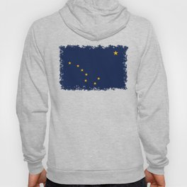 Alaska State Flag, Authentic version Hoody
