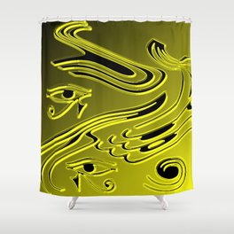 Meeting of Minds Shower Curtain