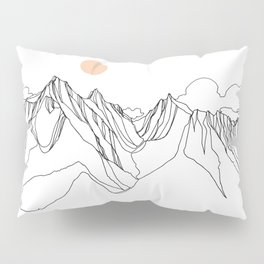 Mount Jumbo :: Single Line Pillow Sham