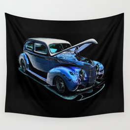 1939 Ford Coupe By Annie Zeno Wall Tapestry