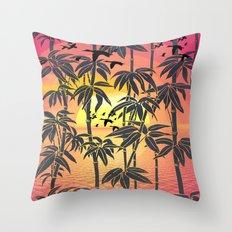 SUN DUCKS Throw Pillow