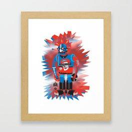 Punkbot! Framed Art Print