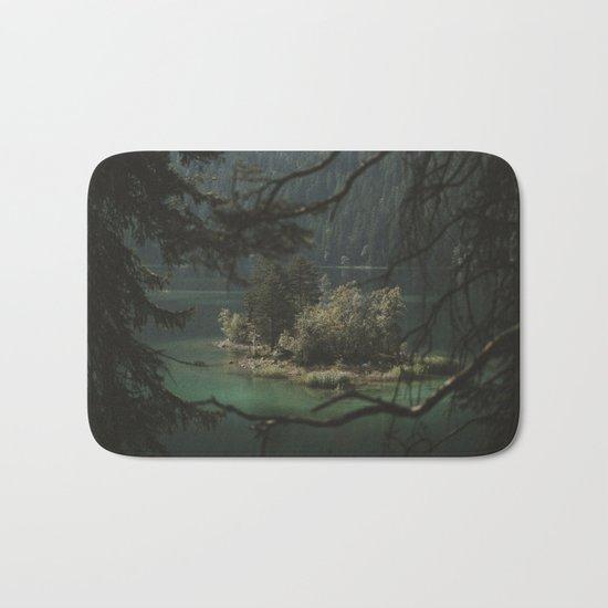 Framed by Nature - Landscape Photography Bath Mat