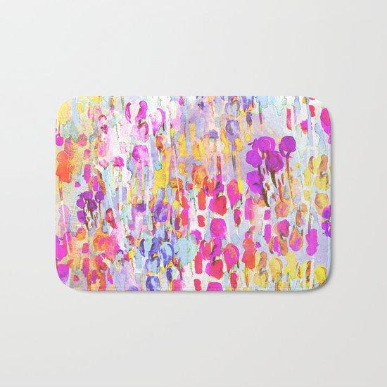 Flower Fields  Bath Mat