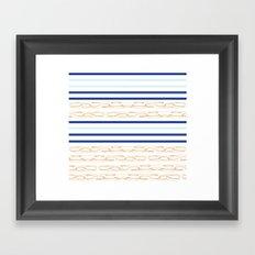 Chain up  Framed Art Print