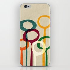 Blowing bubbles iPhone & iPod Skin