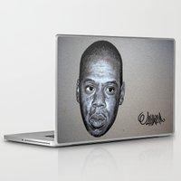 jay z Laptop & iPad Skins featuring JAY-Z by Jahwan by JAHWAN