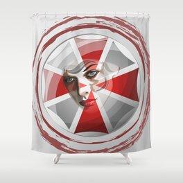 Umbrella Corp Shower Curtain