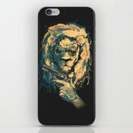 Lion is always Cool iPhone Skin