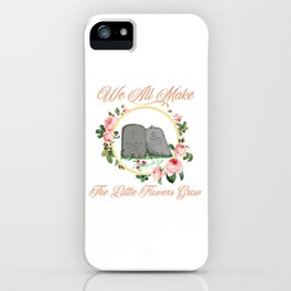 Just Buried iPhone Case