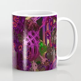 Exoskeleton Purple Coffee Mug