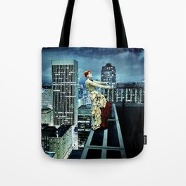 The Air Between my Fingers Tote Bag