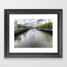 River Liffey Framed Art Print