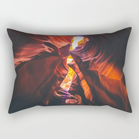 Lower Antelope Canyon, Arizona Rectangular Pillow