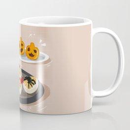 Devil Eggs and Pumpkin Hand Pie Coffee Mug