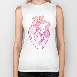 Designer Heart Biker Tank