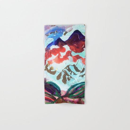 For purple mountain majesties Hand & Bath Towel