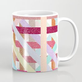 Structural Weaving Lines Coffee Mug