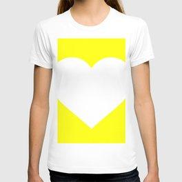 Heart (White & Yellow) T-shirt