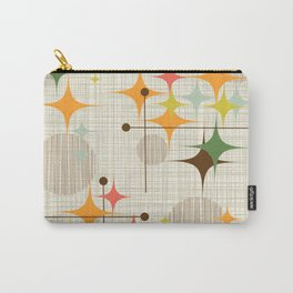 Mid Century Modern Starbursts and Globes 3a Carry-All Pouch