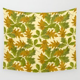 Leaves Camouflage Pattern Wall Tapestry