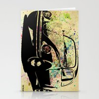 beetle Stationery Cards featuring Beetle by Del Vecchio Art by Aureo Del Vecchio