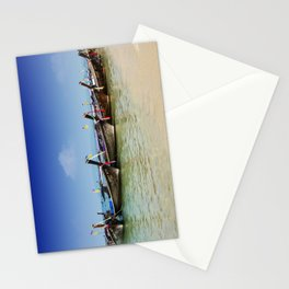 Boats in Thailand Stationery Cards