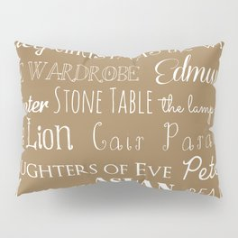 Narnia Celebration - Tortilla Pillow Sham