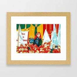 """Resistance"" Framed Art Print"
