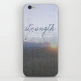 Unveiling Beauty - Strength iPhone Skin