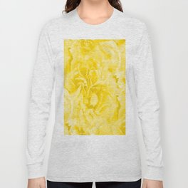 Yellow Peony Petals in Close-up #decor #society6 #buyart Long Sleeve T-shirt