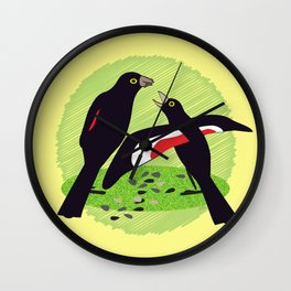 Tumbling Song Wall Clock