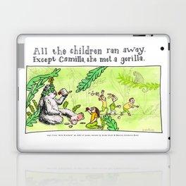 Camilla met a Gorilla Laptop & iPad Skin