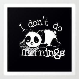Panda #1 Art Print