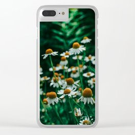 Wild Abandon of Summer Clear iPhone Case
