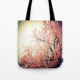 Cherry Blossom Nostalgia Tote Bag