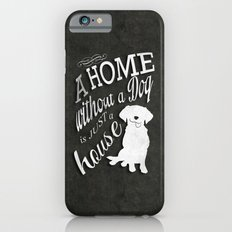 Home with Dog Slim Case iPhone 6s