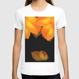 Golden leaves  T-shirt