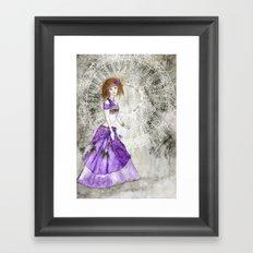 Belly Dancer Spiritual Awakening Framed Art Print