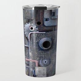 crazy horror techno sadness Travel Mug