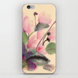 Cyclamen Series iPhone Skin