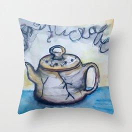 Steamed Throw Pillow