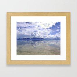 Eerie view from Green Island,  Queensland Framed Art Print
